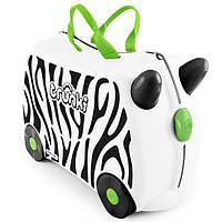 Детский чемоданчик на колесах Trunki Zebra Zimba  TRU-0264