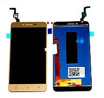 Дисплей Lenovo A6020a40 Vibe K5 with touchscreen gold orig