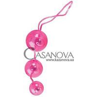 Вагинальные шарики Graduated Orgasm Balls розовые, Розовый