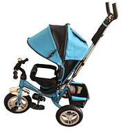 Велосипед 3колеса голубой M 3113-5 A