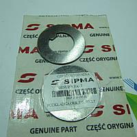 Шайба вала вязальных аппаратов пресс подборщика Sipma Z224 - 31х58х2.7мм. [Оригинал] 2023-070-135