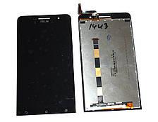 Дисплей ASUS ZenFone 6 with touchscreen black orig