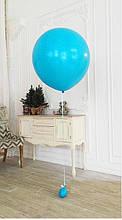 Воздушный шар любого цвета 70 см на ленте