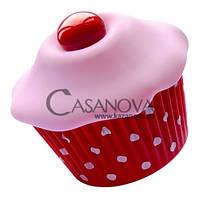 Вибратор-пирожное для клитора Cupcake, Красный
