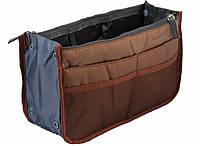 Органайзер для сумки Аiry Bag-in-Bag коричневый