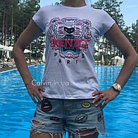 Женская футболка Kenzo белая