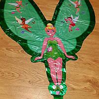 Большая воздушная фигура из фольги Фея 95см.