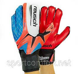 Воротарські рукавиці Reusch Fit red 5-ка, 6-ка, 7-ка