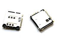 Конектор sim Samsung S5230/C3010/P900 orig