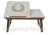 Подставка для ноутбука деревянный стол столик раскладной