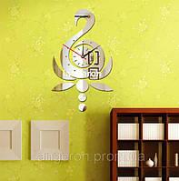 Декор зеркальный пластик виниловые наклейки зеркальные часы настенные оригинальные лебедь