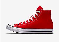 Красные высокие конверсы Converse M9621 кеды