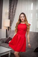 Платья мини Подіум Женское платье Подіум Fox glowe  11203-RED S Красный