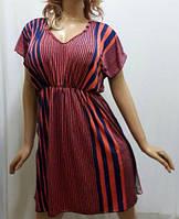Платье-туника на резинке,  в полоску, Харьков