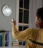 Светильник ночник Луна в комнате с пультом moon in my room