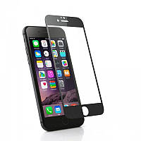 Скло iPhone 6/6S (0.3 мм, 3D,чорне, повне,с олеофобним покриттям, та покриттям Silk Screen)
