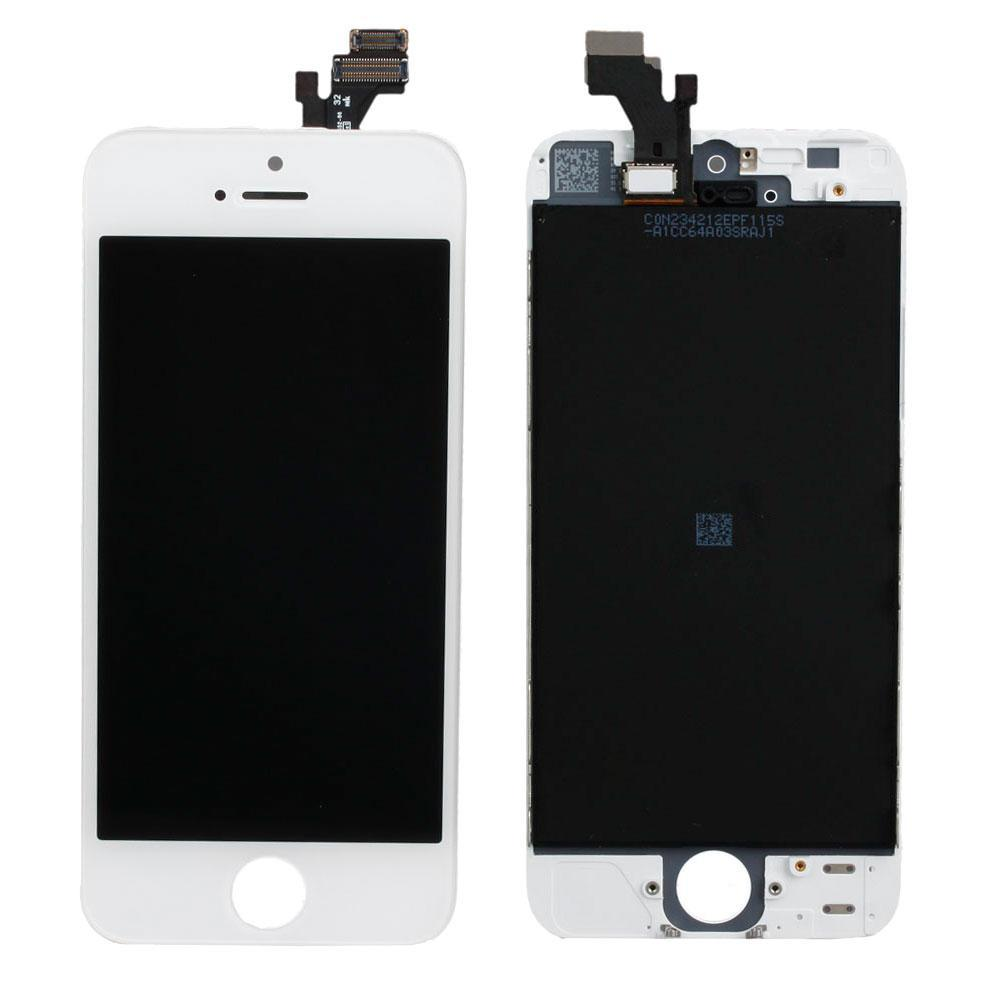 Iphone5 LCD + touchscreen white high copy (Tianma)