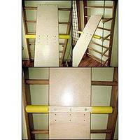 Доска для спины и пресса 180 см к шведской стенке Ирель