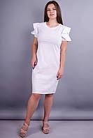 Марианна. Молодежное нарядное платье. Белый.