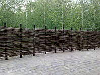 Украинский забор из лозы высота 1.2 метра