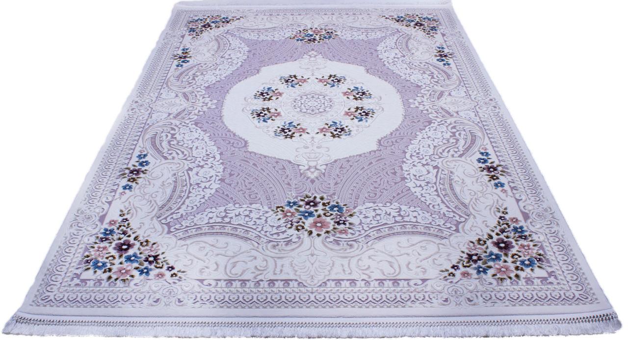 Ковер BELMOND K183A l. blue/h.b cream, 1.2x1.8, Прямоугольник - Nika Carpet  в Николаеве