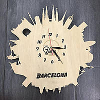 Стильные настенные часы «Барселона» из серии «Города мира»
