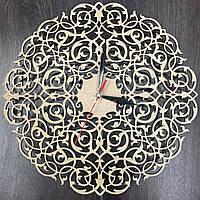 Настенные часы ручной работы «Винтажный орнамент»
