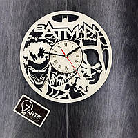 Бесшумные настенные часы «Batman»