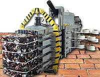 Пресс пакетировочный канальный полуавтоматический