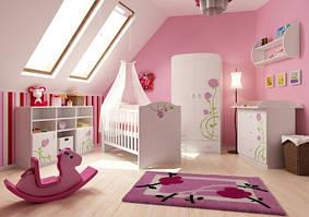 Роза розовая для новорожденных