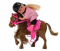 Кукла Эви и коричневая пони, Steffi & Evi Love