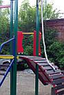 """Игровой детский комплекс для улицы """"Гамми"""" с качелями и горкой, фото 6"""