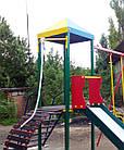 """Игровой детский комплекс для улицы """"Гамми"""" с качелями и горкой, фото 5"""