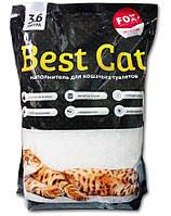 Наполнитель силикагелевый для кошачьего туалета Best Cat (Бест Кет) Блек без запаха, 3,6 л