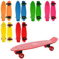 Скейтборд Пенни скейт Penny Board 55*14 см MS 0847