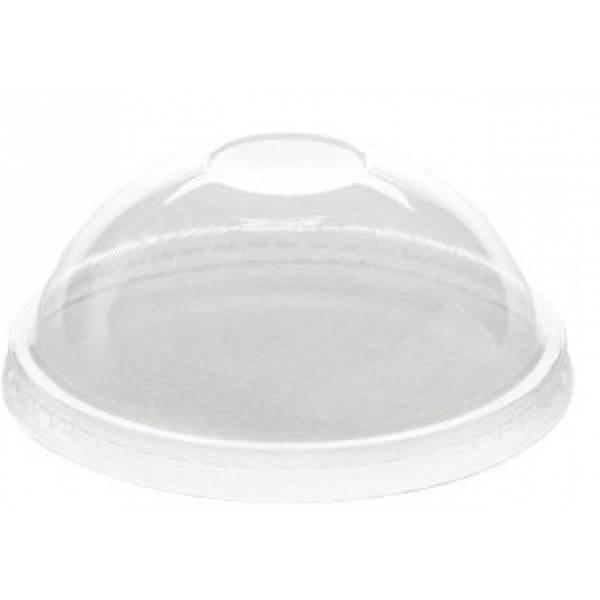 Крышка пластиковая куполообразная к стакану 42256 100 шт/уп