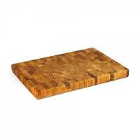 Доска деревянная прямоугольная 40 х 30 х 3,5 см