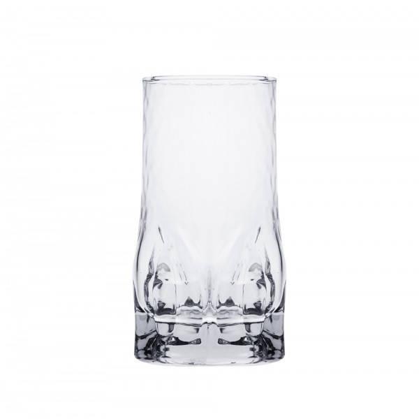 Стакан для напитков 470 мл. высокий, стеклянный Quartz, Durobor