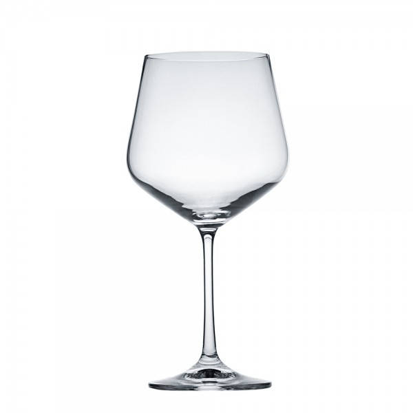 Бокал для вина бургундского 540 мл. на ножке, стеклянный Siesta, Crystalex