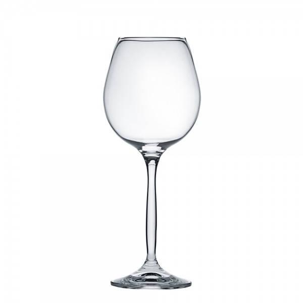 Бокал для вина красного 605 мл. на ножке, стеклянный Сhanson, Crystalex