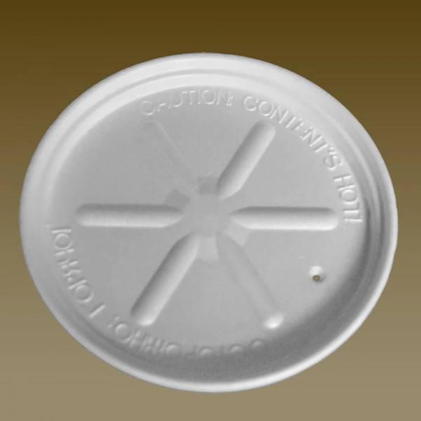 Крышка из вспененного полистирола к супной емкости 500 пиала 25шт/уп