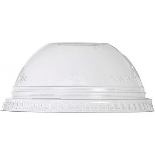 Крышка для стакана ПЭТ купол с отверстием 41403, 41404, 41405, 41406, 41407 прозрачная 50 шт/уп
