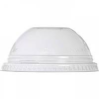 Крышка прозрачная для стакану 41917 купол с отверстием 50 шт/уп