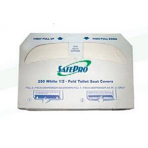 Накладки на унитаз 250 листов/уп SafePro