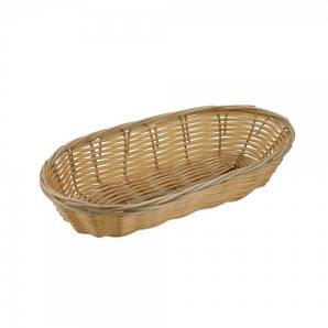 Хлебница овальная 22х10, плетеная