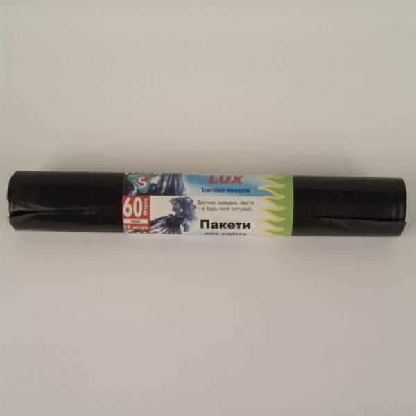 Мешки для мусора LD 60л 10шт/рул