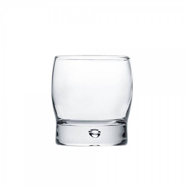 Стакан для напитков 280 мл. низкий, стеклянный Bubble, Durobor