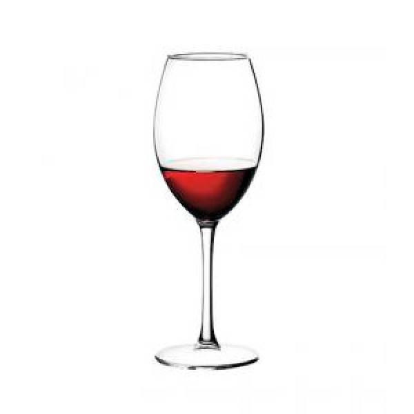 Бокал для вина красного 420 мл. на ножке, стеклянный Enoteca, Pasabahce