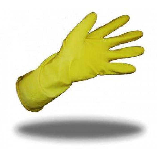 Перчатки резиновые крепкие М, пара/уп ФБ/МЖ
