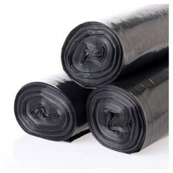 Мешки для мусорах черные LDРЕ, 120л,10шт/рул SafePro